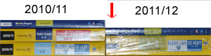 Gold Coast Yellow Pages Comparison 20010-11 2011-12