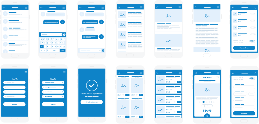 Business Mobile Phone App