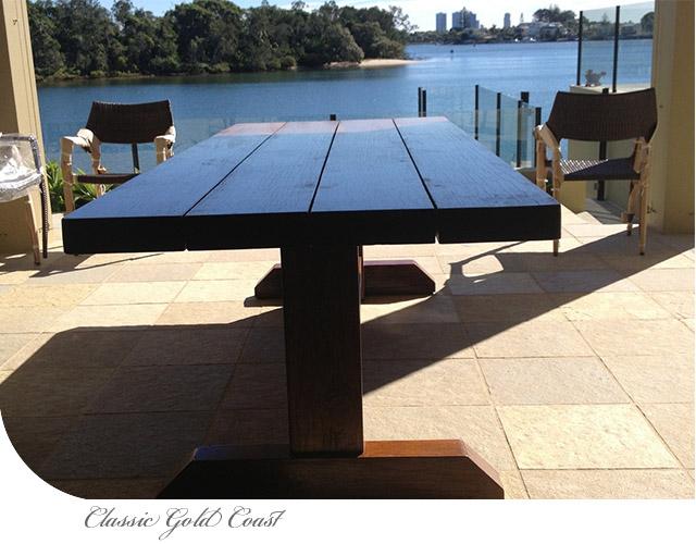 Classic Gold Coast Table