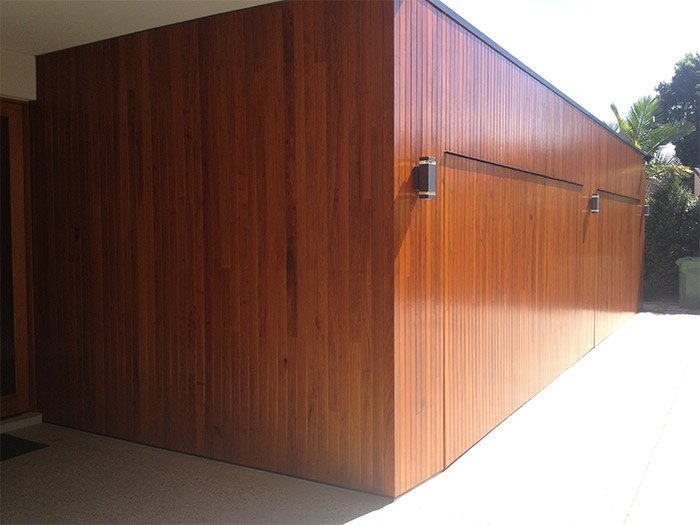 Feature Timber Entrance