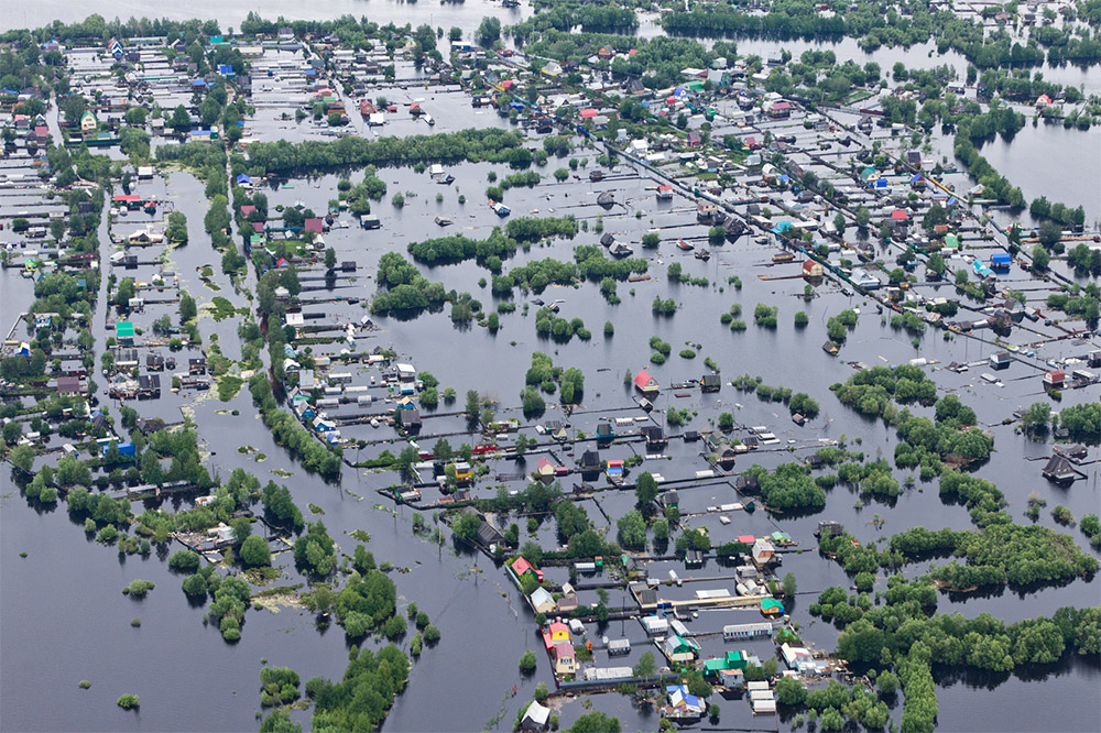 Flooded Township