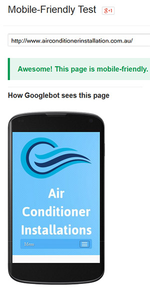 Mobile Friendly Test by Google