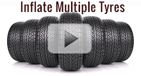 Inflate Multiple Tyres Video