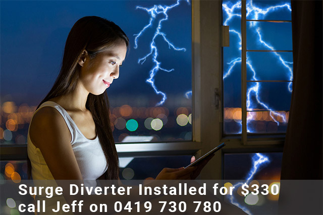 Surge Diverter Installed Brisbane Gold Coast