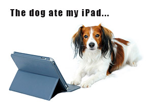 The Dog Ate My iPad